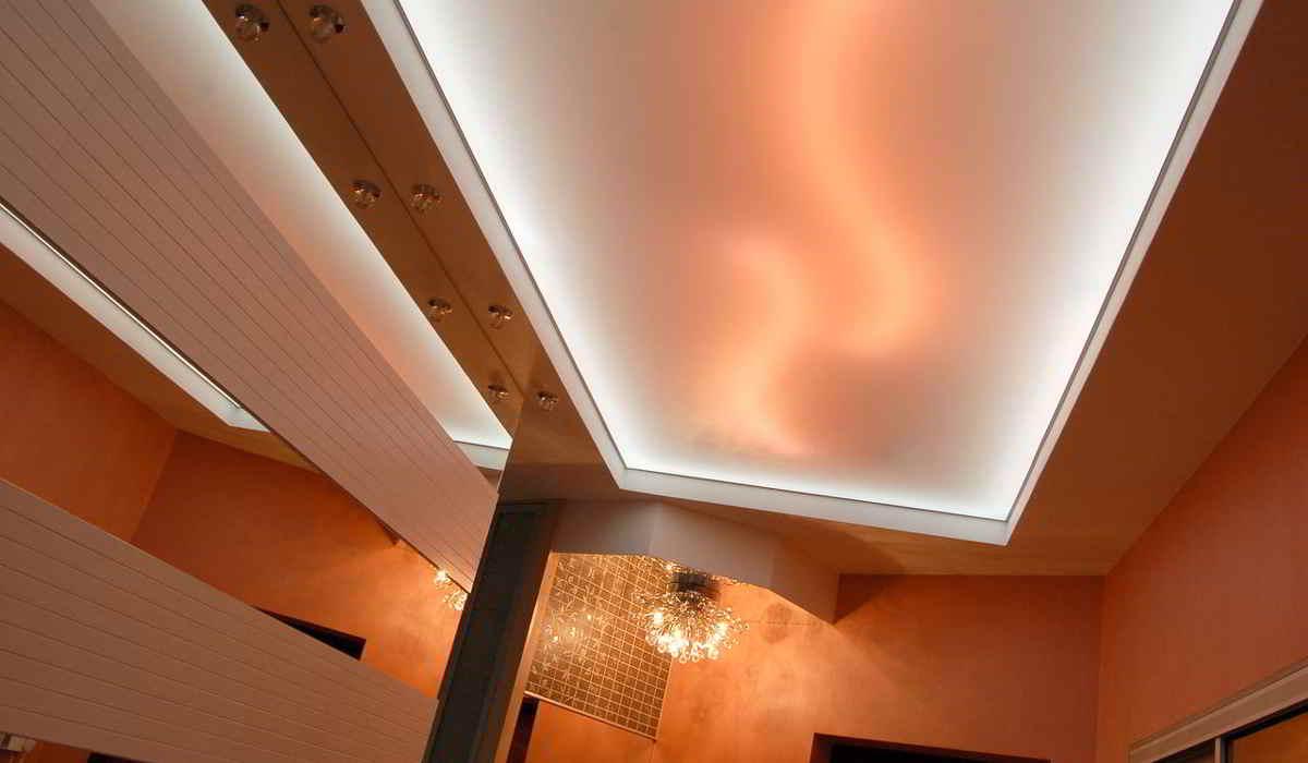 Освещение для натяжных потолков в Лыткарино